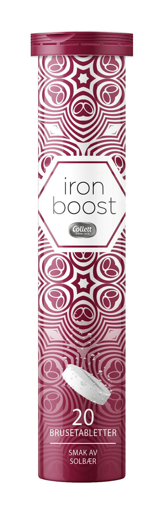 Collett iron boost brusetabletter